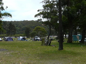 Royal National Park Bonnie Vale Camping