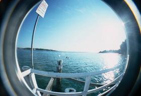 Bundeena Ferry Wharf Fisheye