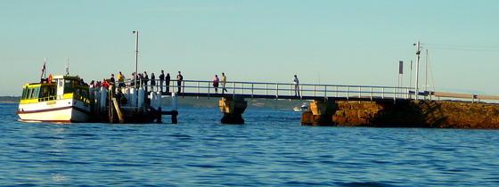Cronulla Bundeena Ferry at Bundeena Wharf