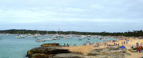 Jibbon Beach Royal National Park Australia Day