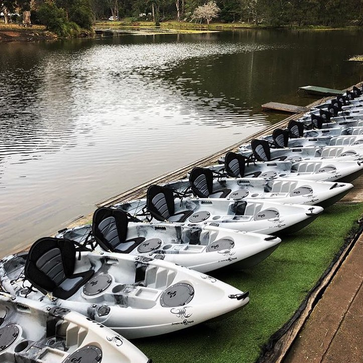 Audley Boatshed Kayaks Rental