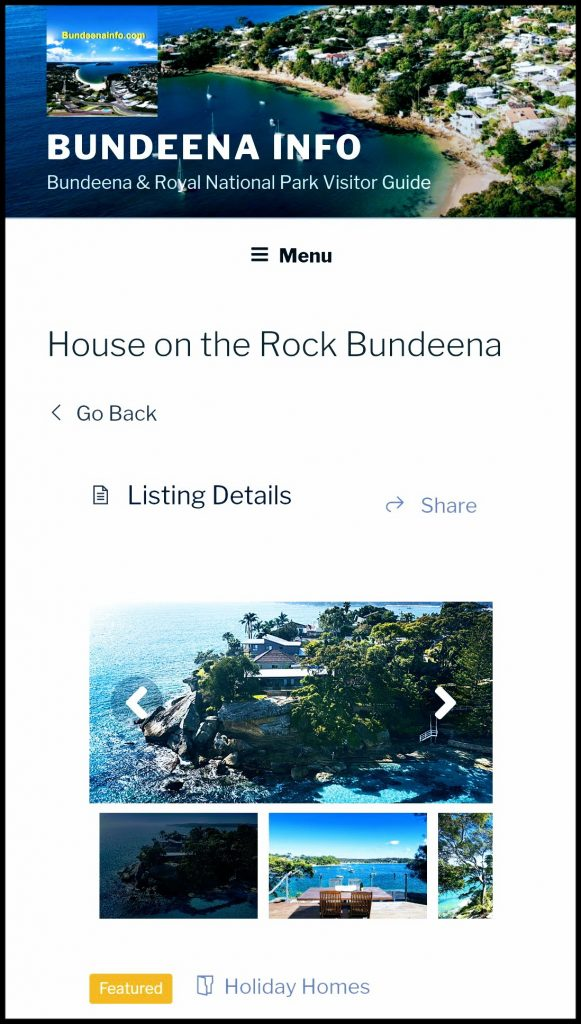 Bundeena Business Advertising Listing