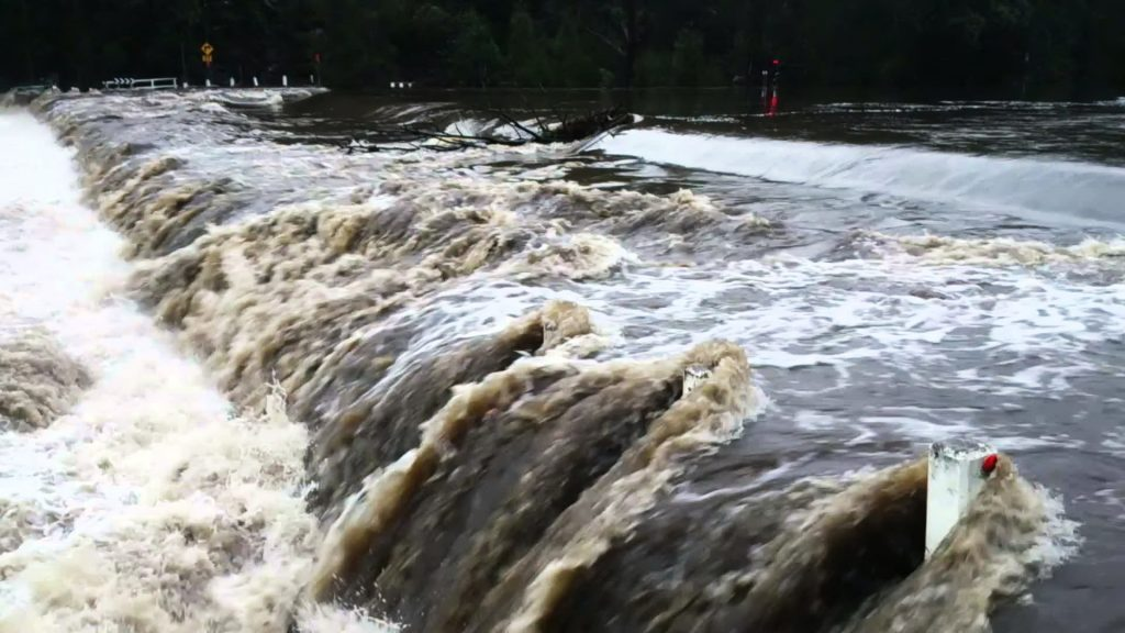 Audley Weir Flooding Royal National Park