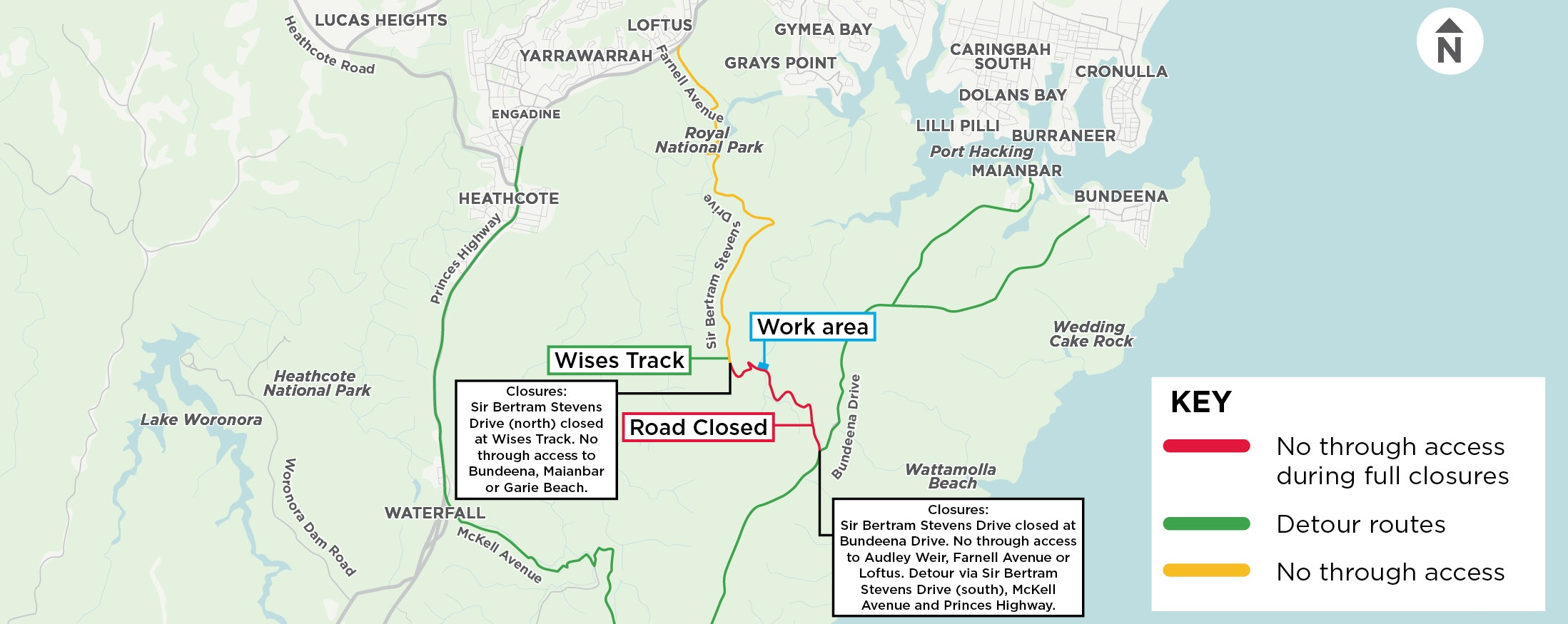 Flat Rock Bridge Closure