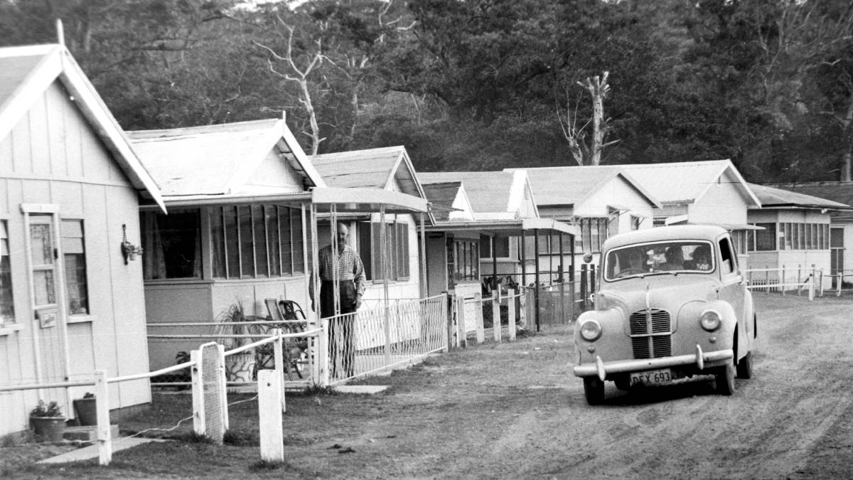 Bonnie Vale Campground Remediation Cabin 1960s