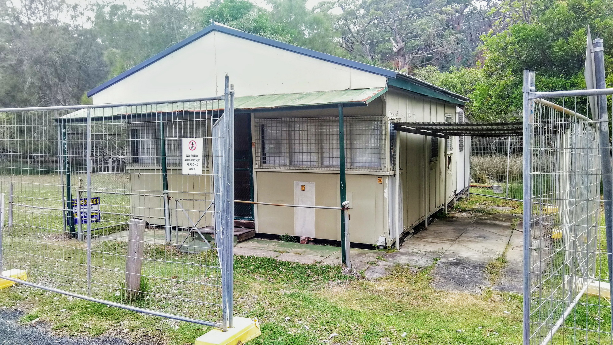Bonnie Vale Campground Remediation Cabin