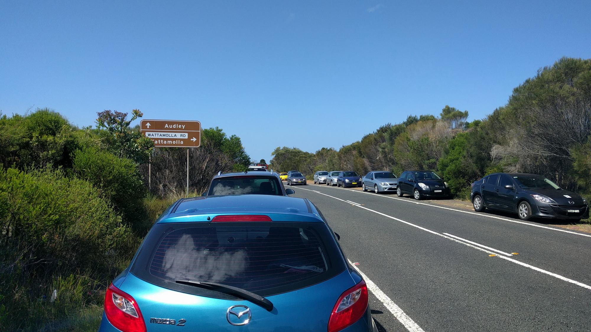 RNP Traffic Wattamolla Road
