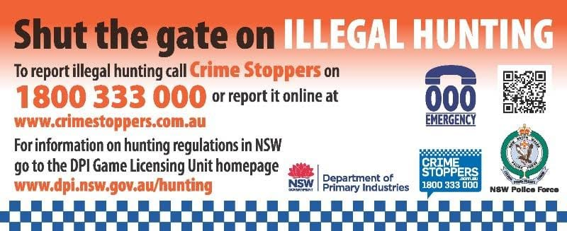 Illegal Hunting Crime Stoppers