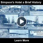 Simpson's Hotel a Brief History video