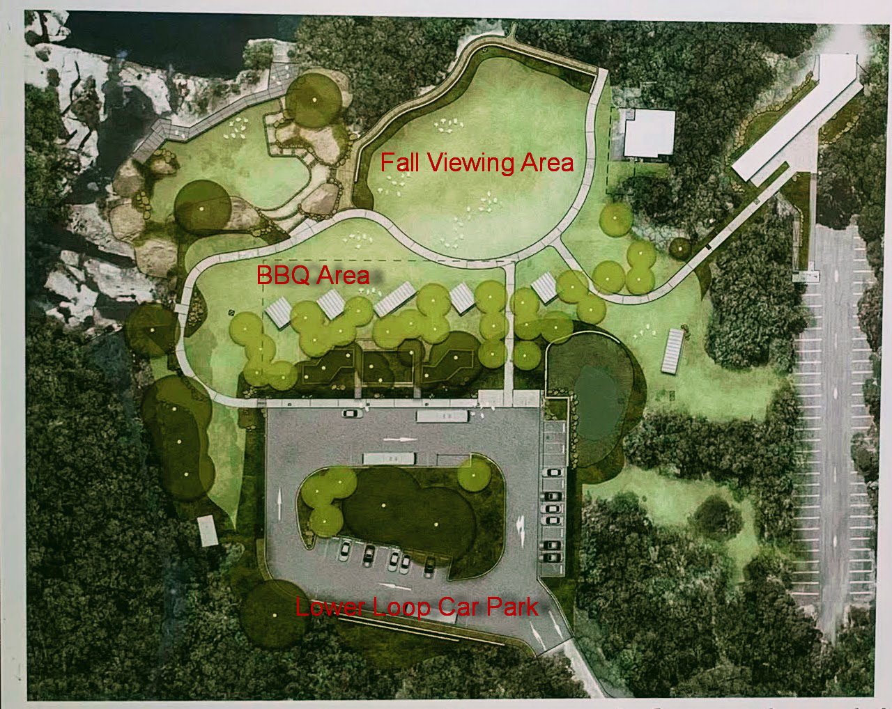 Wattamolla Upgrade Plan Map Explained