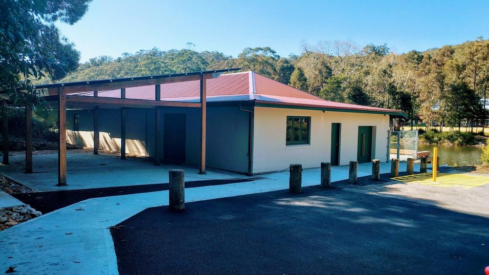 Audley Boatshed Shelter