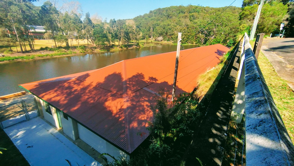Audley Boatshed Roof