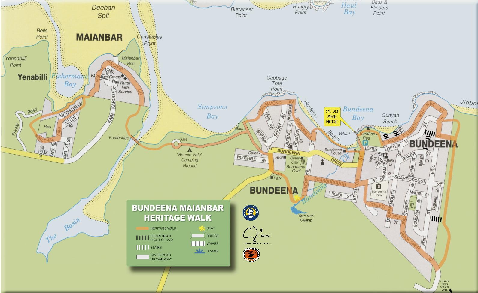 Bundeena Maianbar Heritage Walk