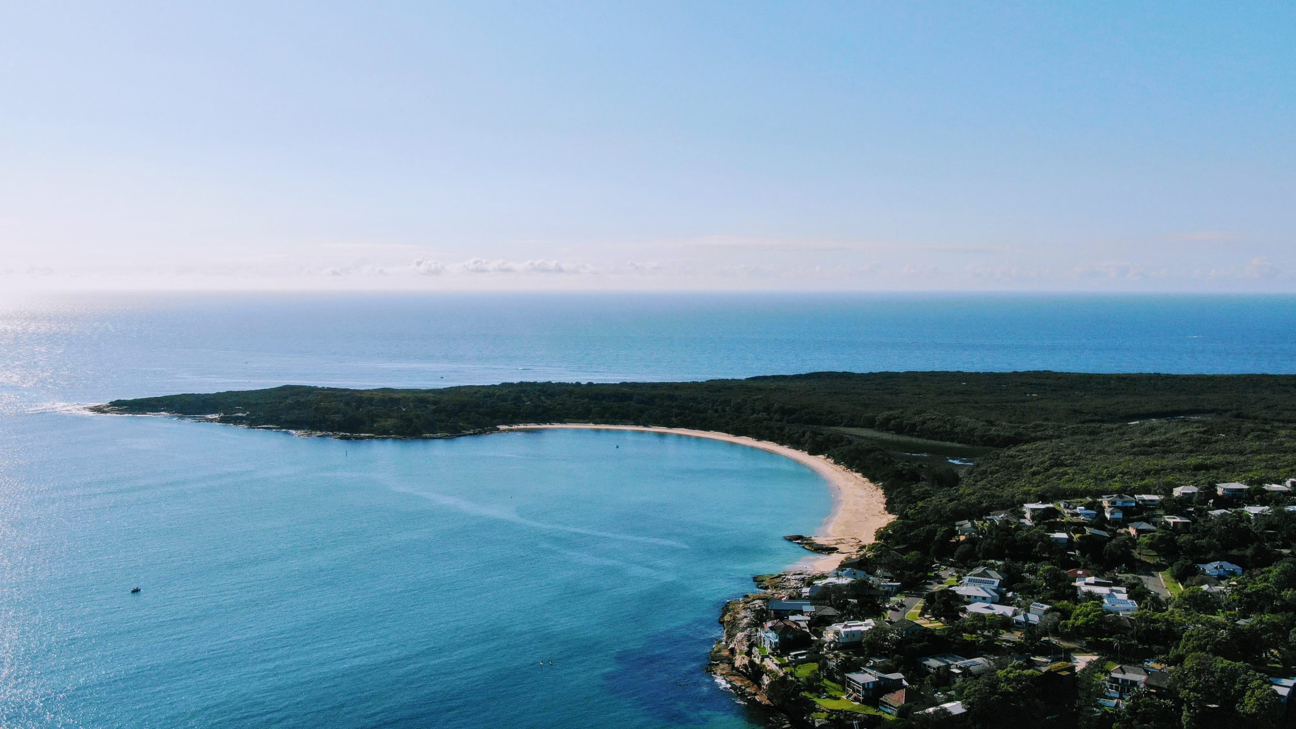 Jibbon Beach from above