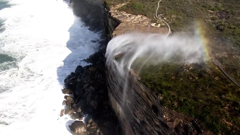 Reverse Waterfalls Royal National Park Australia
