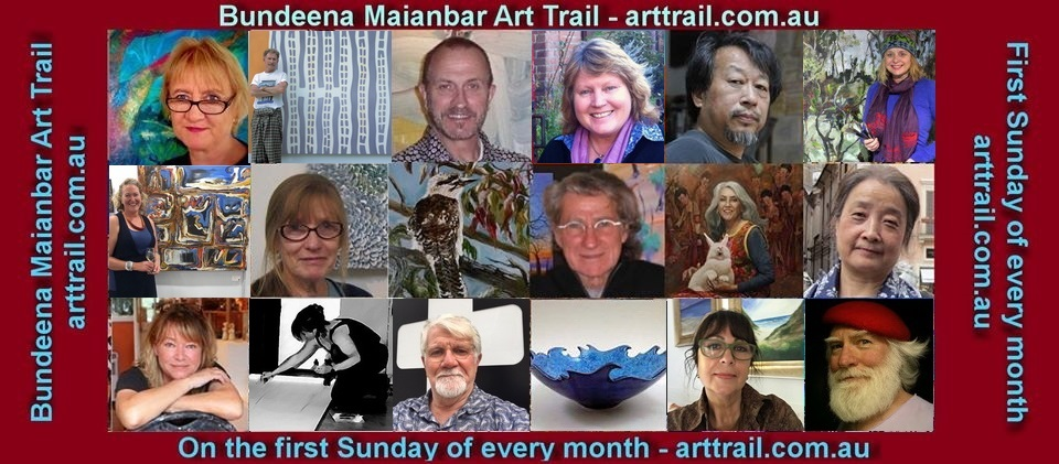 Bundena Maianbar Art Trail Artist Compliation