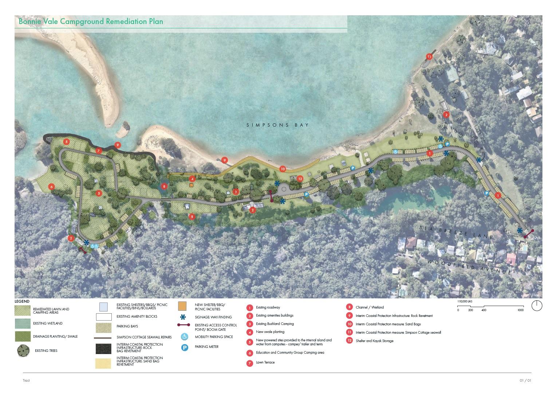 Bonnie Vale Campground Remediation Plan